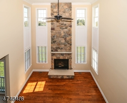 Readington Model- fireplace